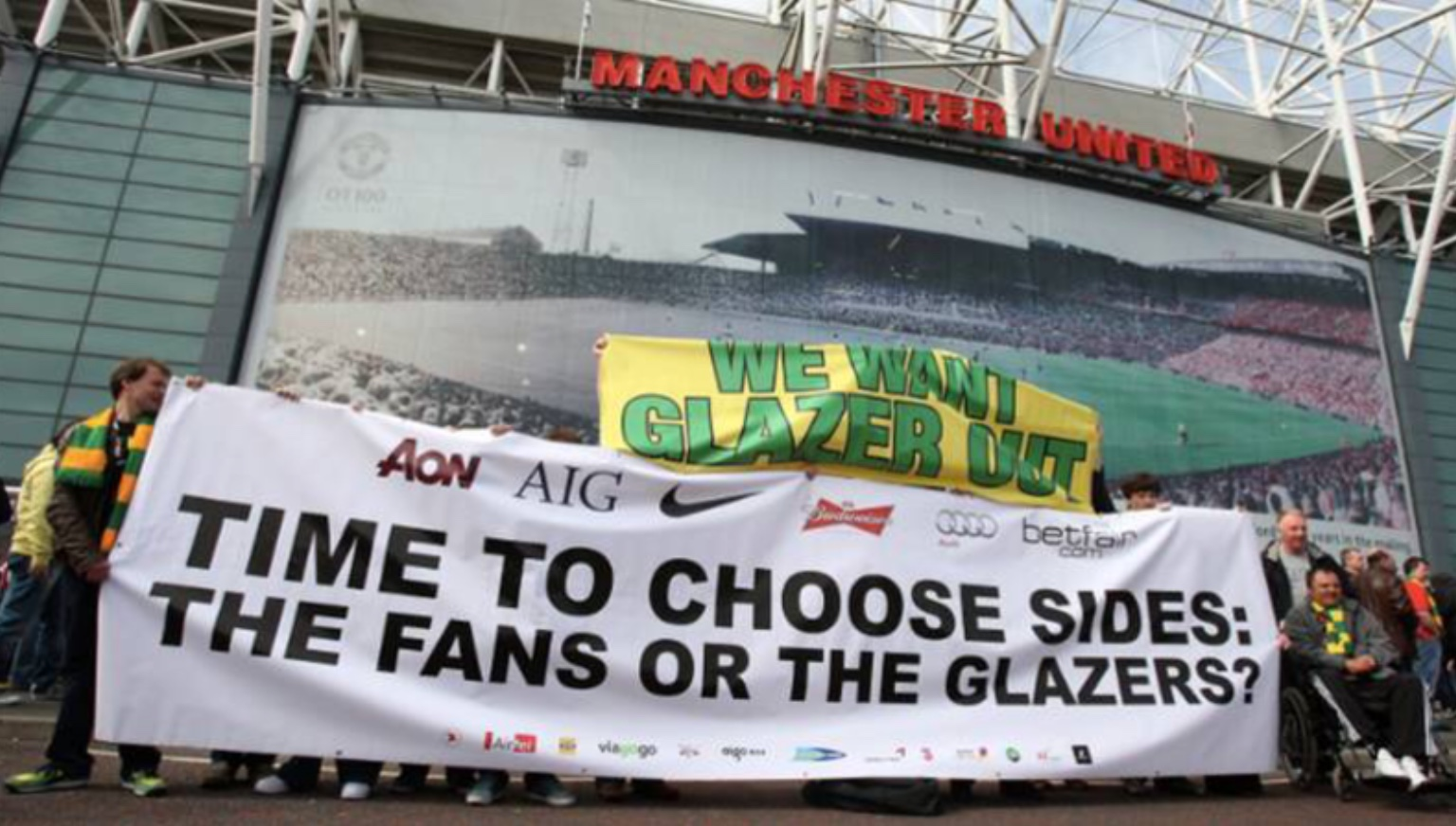 Glazers out