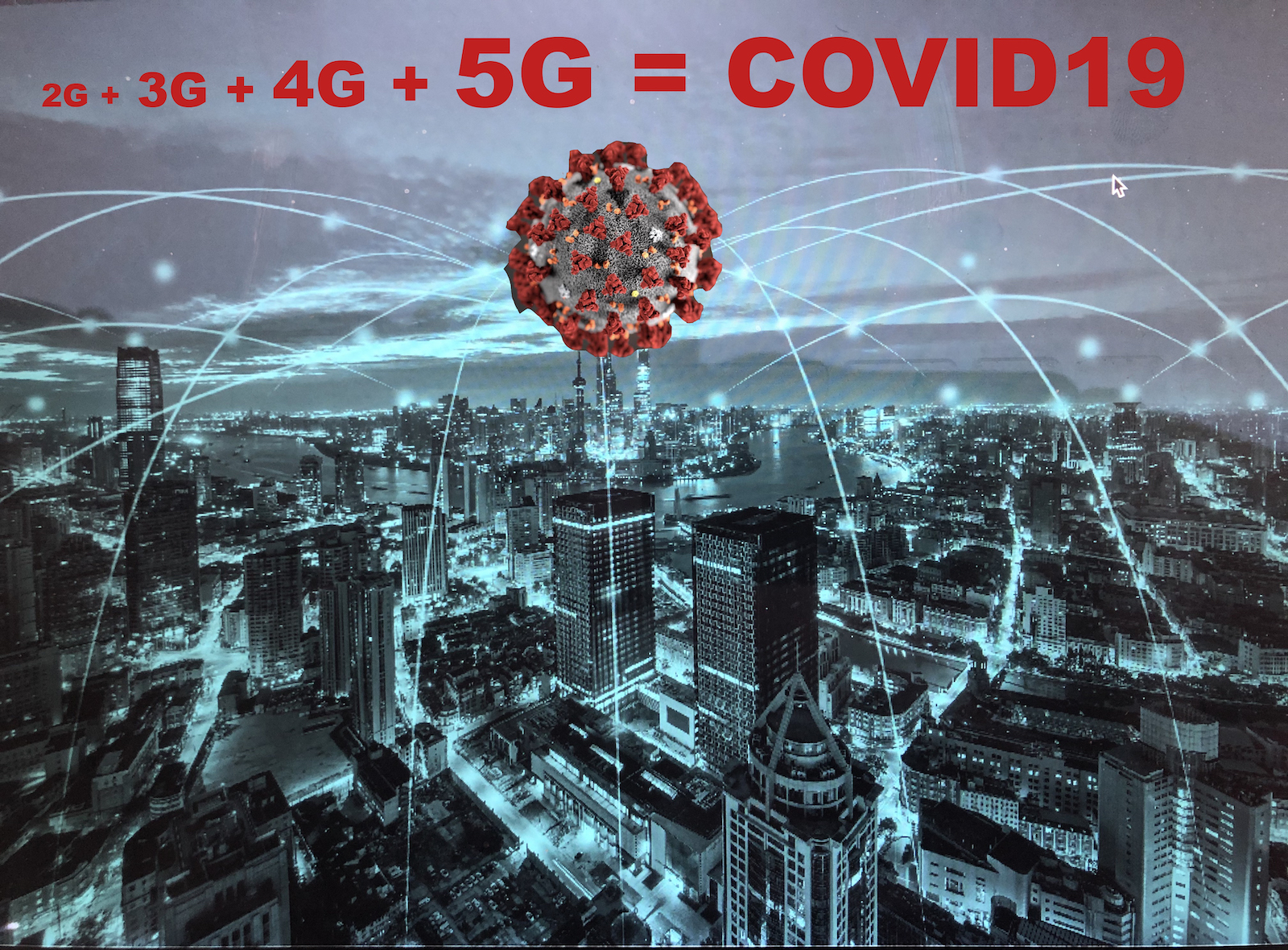 5G CREATES COVID 19. REFUSE MORE 5G INSTALLATIONS - DEACTIVATE THE OLD ONES!