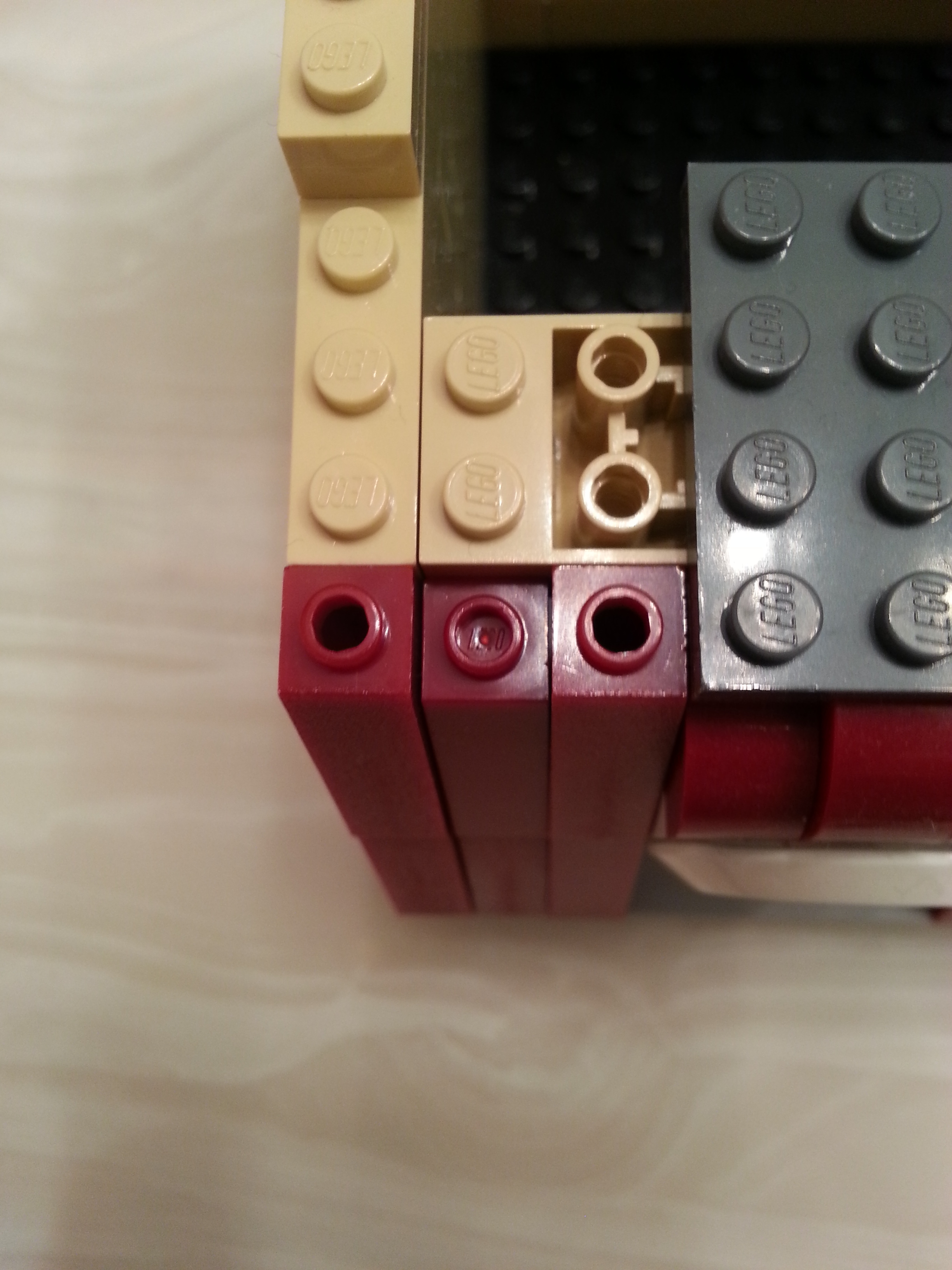 Shades of color Lego bricks must become better because pricing is high so quality must be high as well