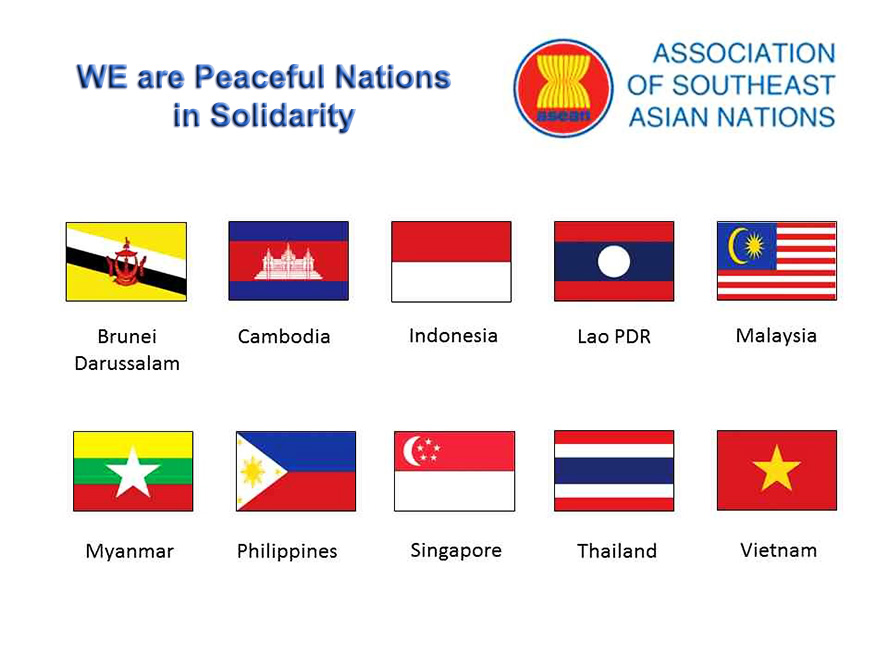 ASEAN is peaceful and we do not need U.S. Military Protection in the South China Sea.