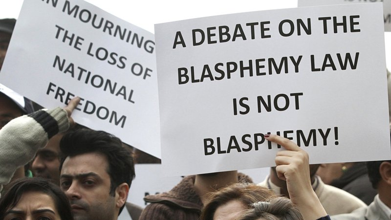 Stop ''fake'' blasphemy charges on innocent people